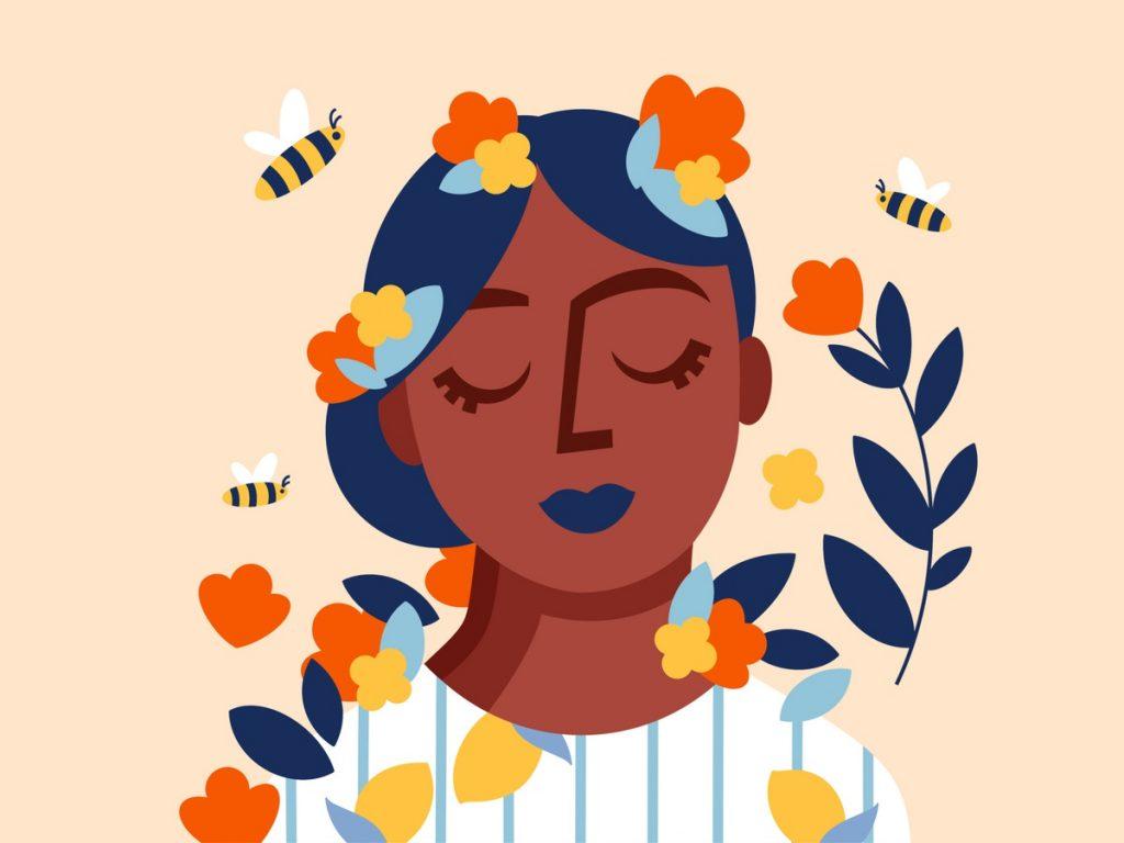 Flower Lady Jessica Gaudin