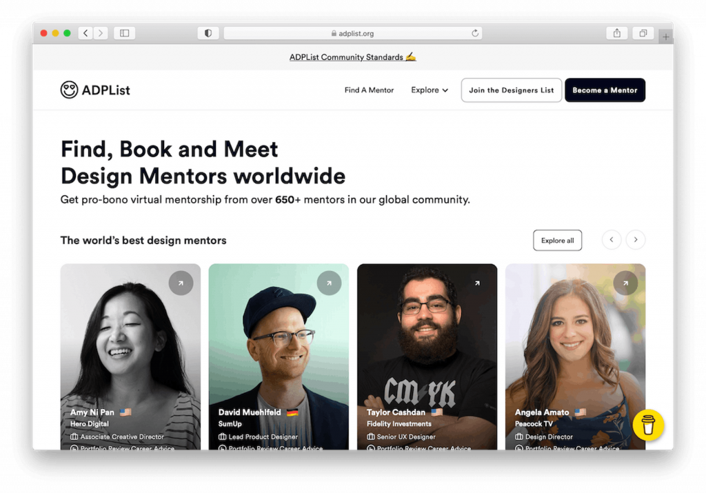 Creative Freelancer Mentoring Platforms