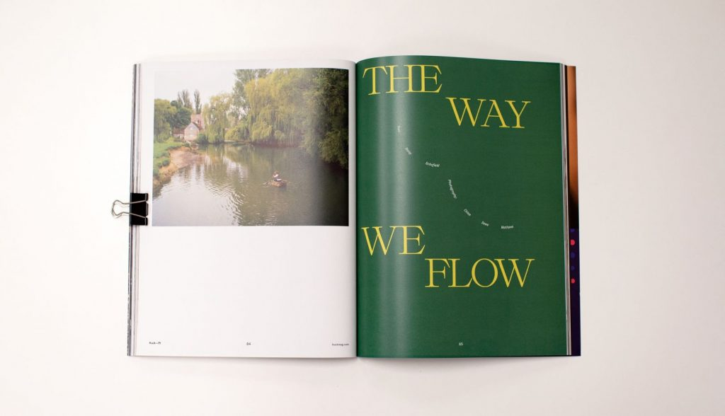 Huck magazine launches a new identity and design