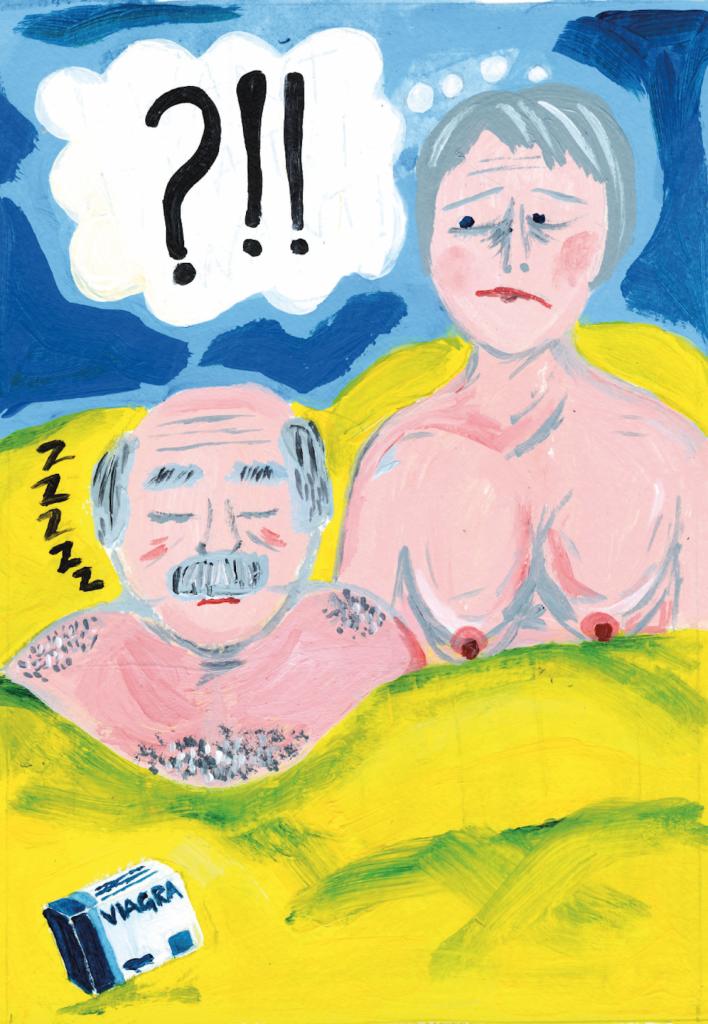 Jenny Éclair illustration on sex