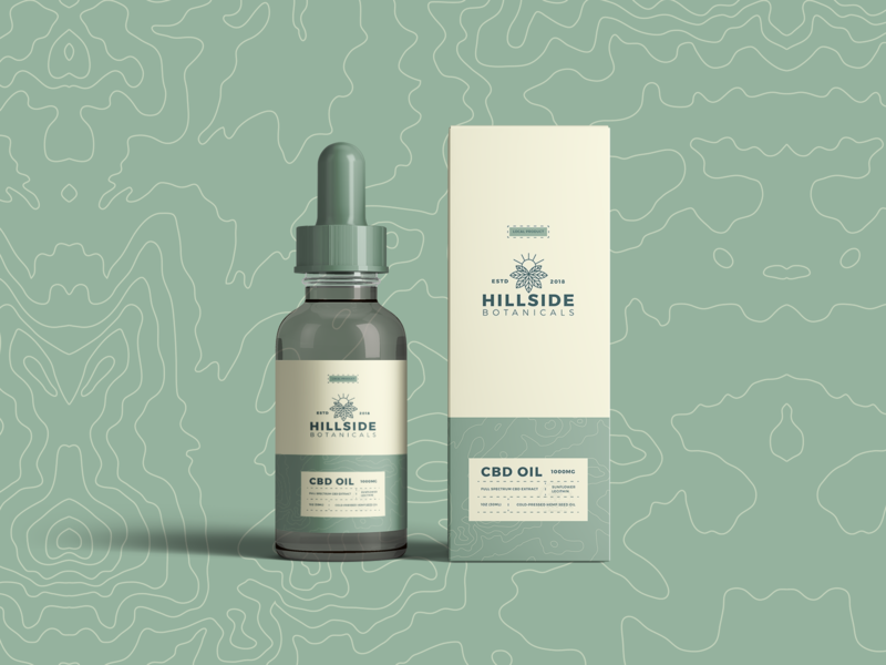 Marketing techniques for cbd products - graphic design and product deisgn