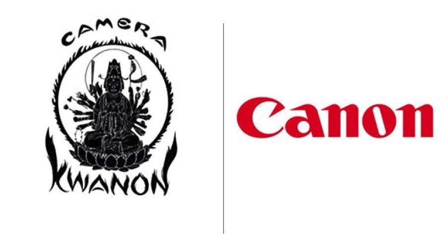 Canon logo transformation design branding