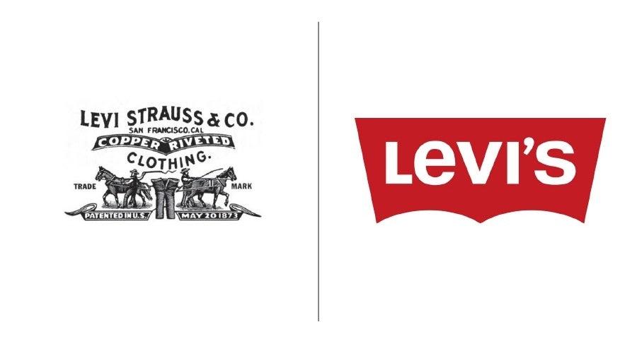 Levis logo transformation design branding