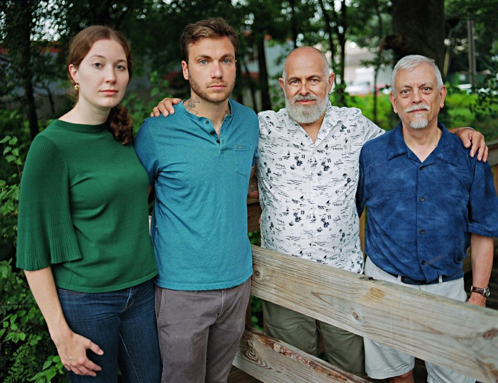 Art and Jim with their son Ethan and his fiancée Rose. Providence, Rhode Island © Bart Heynen from 'Dads' published by powerHouse Books